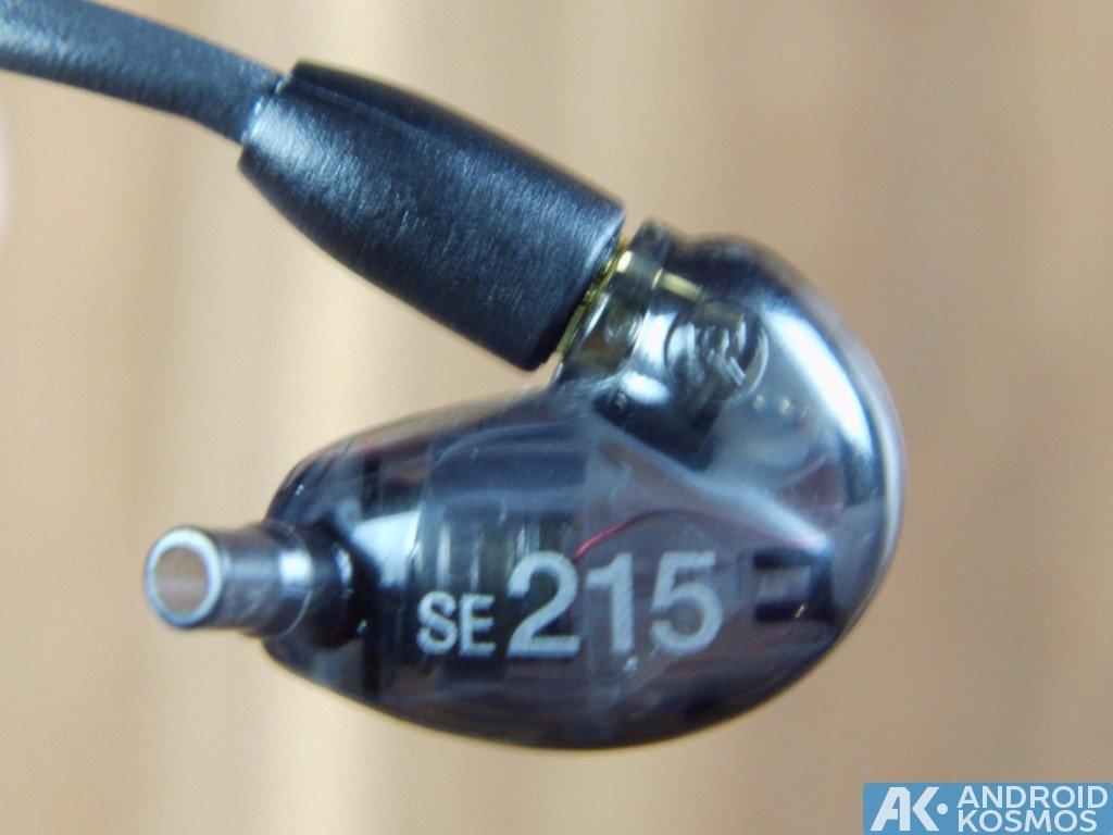 Test / Review: SHURE SE215 - In-Ear Kopfhörer mit dynamischen Bass 7