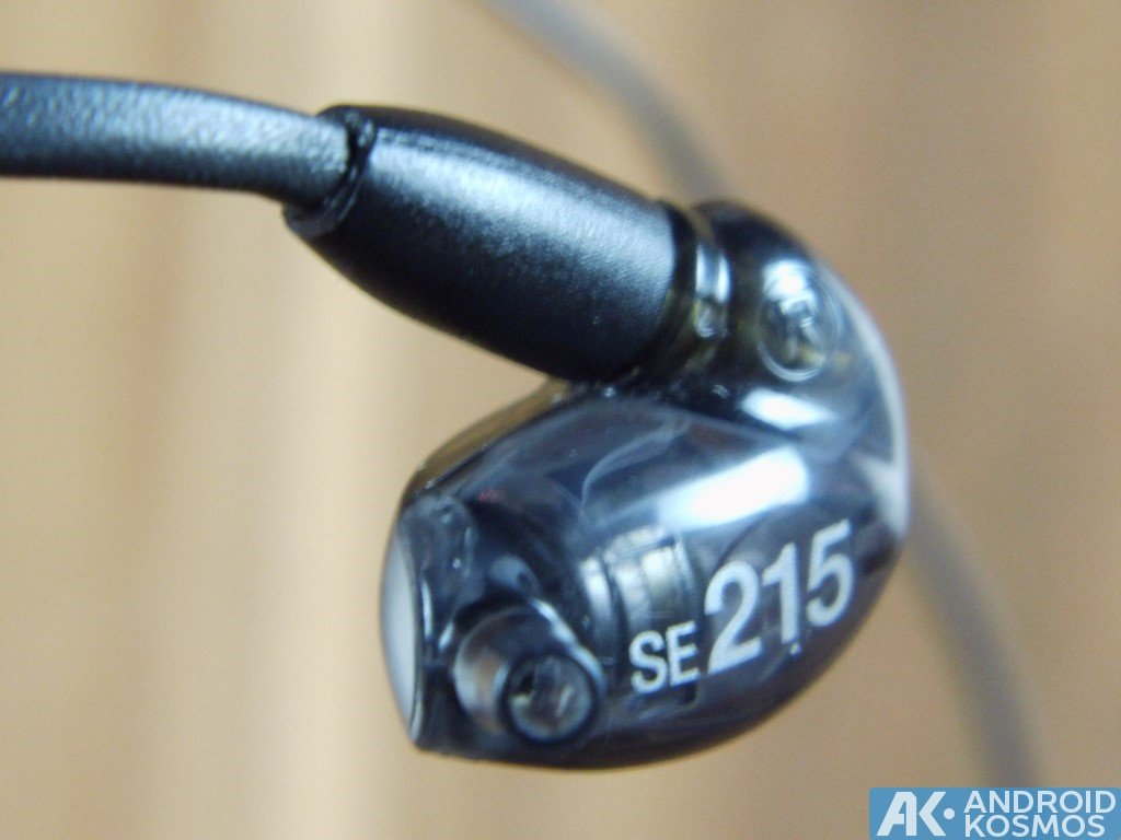 Test / Review: SHURE SE215 - In-Ear Kopfhörer mit dynamischen Bass 8