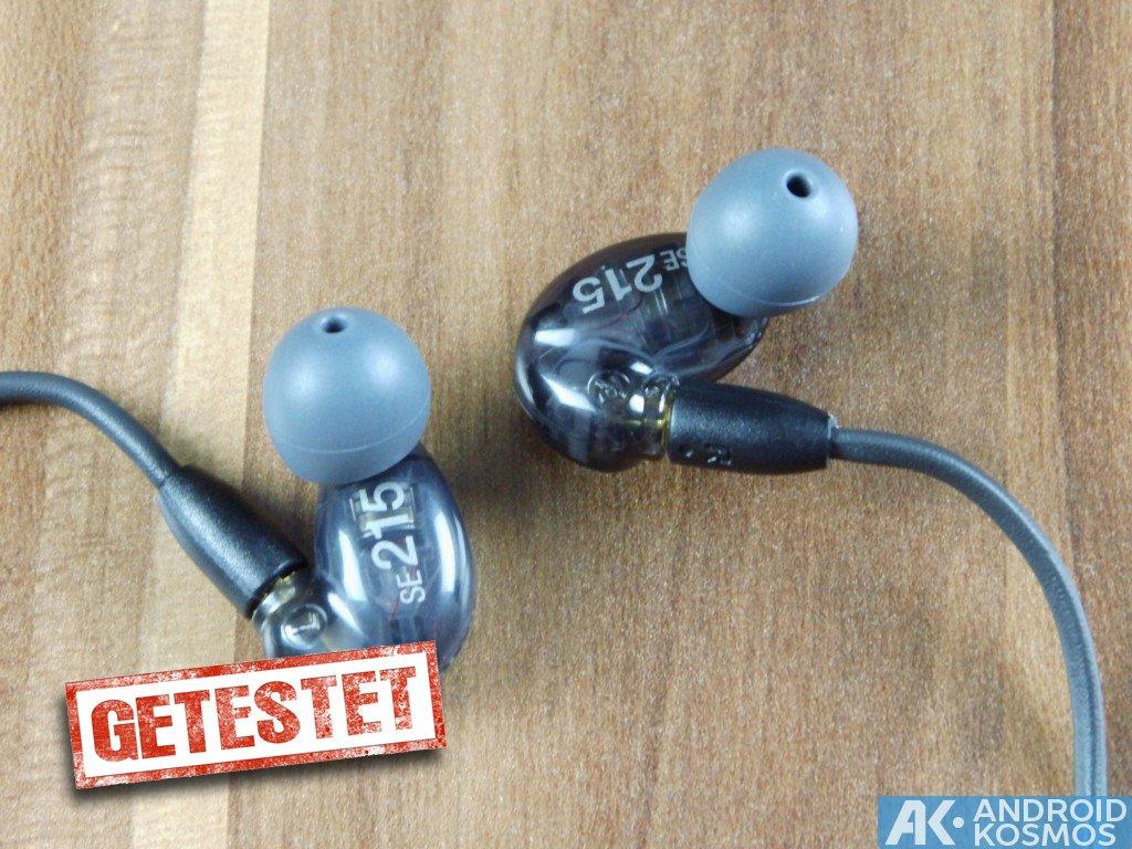 AndroidKosmos | Test / Review: SHURE SE215 - In-Ear Kopfhörer mit dynamischen Bass 16
