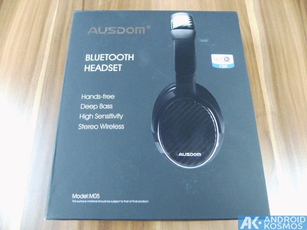 Test / Review: AUSDOM M05 - 40 Euro Bluetooth Kopfhörer 38