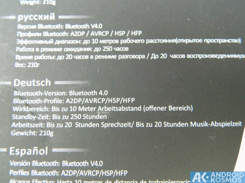 Test / Review: AUSDOM M05 - 40 Euro Bluetooth Kopfhörer 37