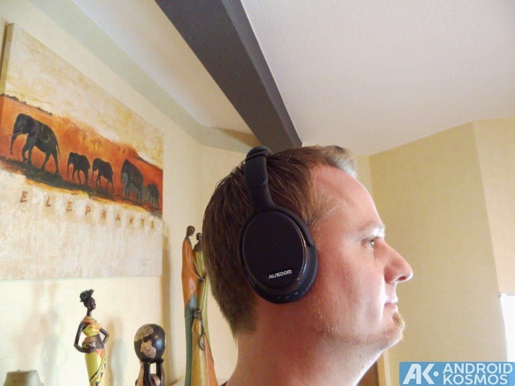 Test / Review: AUSDOM M05 - 40 Euro Bluetooth Kopfhörer 14