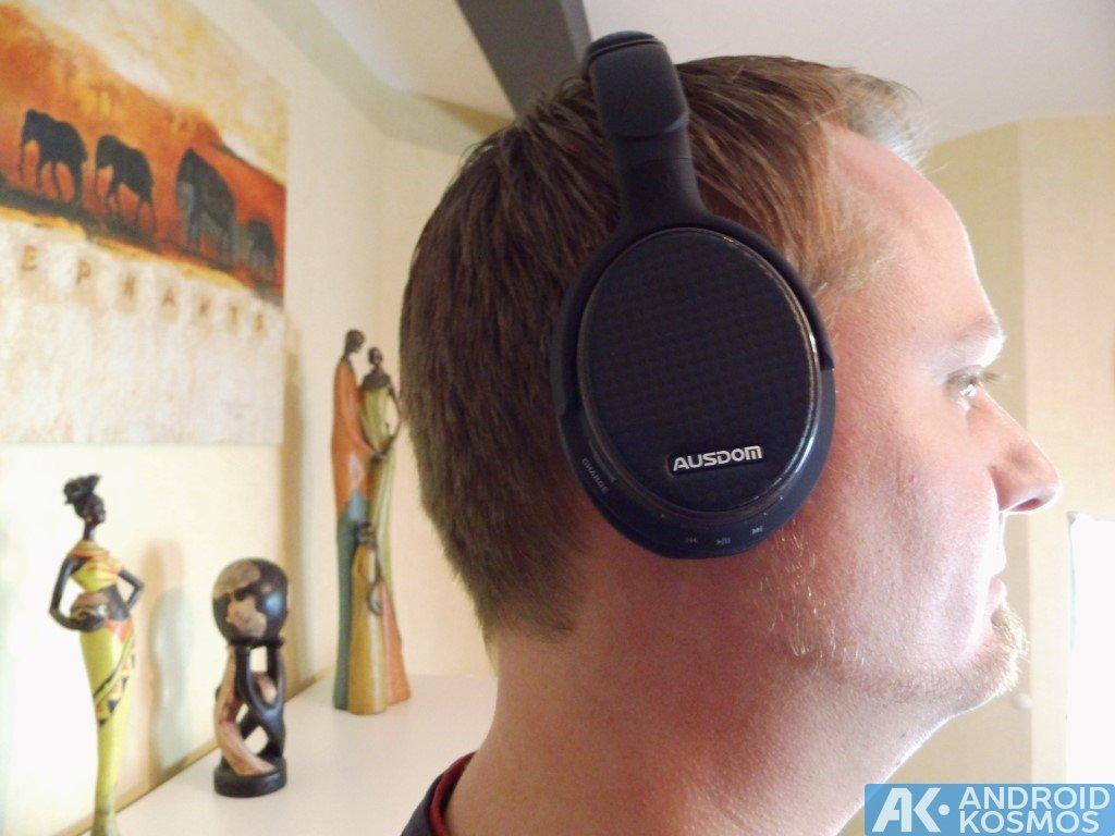 Test / Review: AUSDOM M05 - 40 Euro Bluetooth Kopfhörer 15