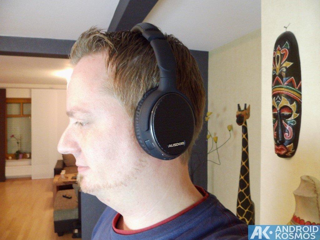 Test / Review: AUSDOM M05 - 40 Euro Bluetooth Kopfhörer 16