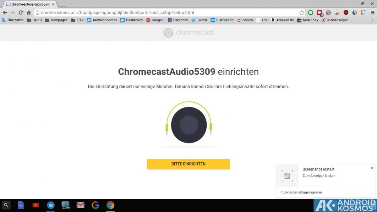 Anleitung/Test: Chromecast Audio macht alte Stereo-Anlagen wieder smart 30