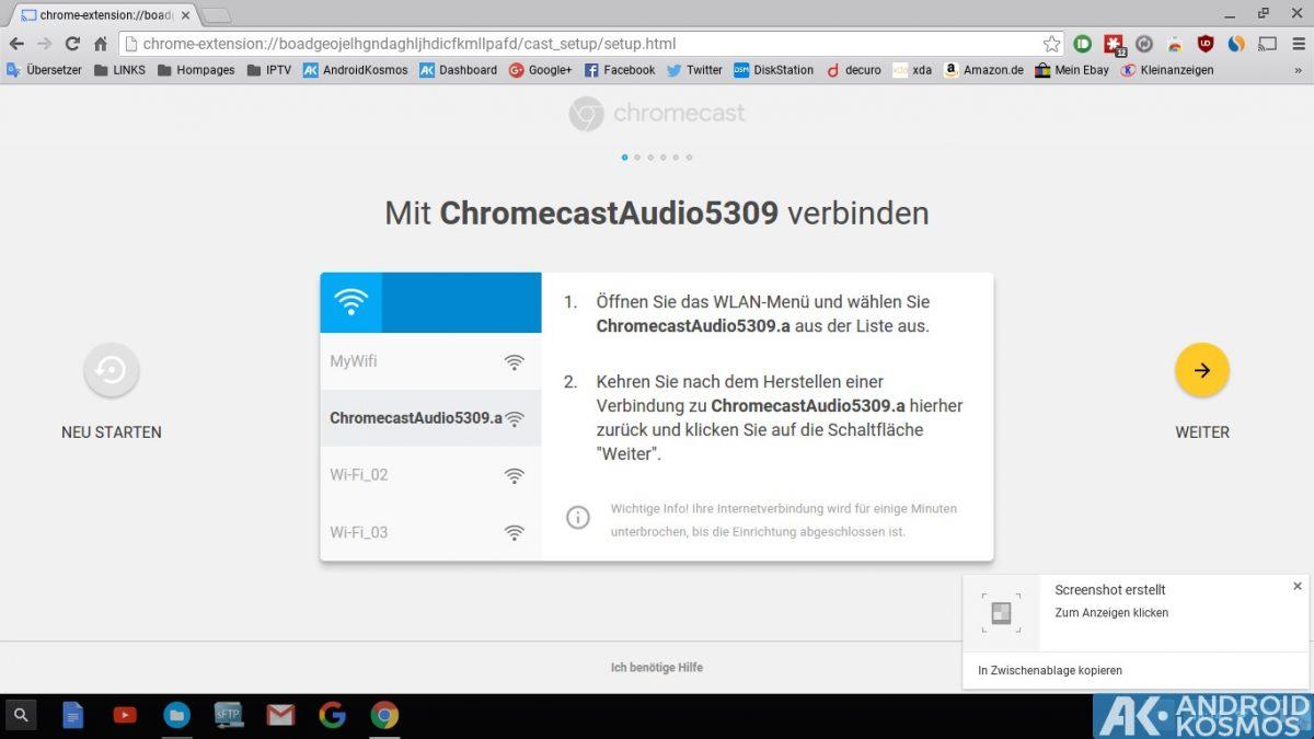Anleitung/Test: Chromecast Audio macht alte Stereo-Anlagen wieder smart 32