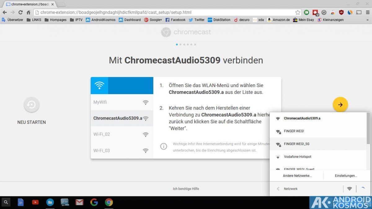 Anleitung/Test: Chromecast Audio macht alte Stereo-Anlagen wieder smart 33