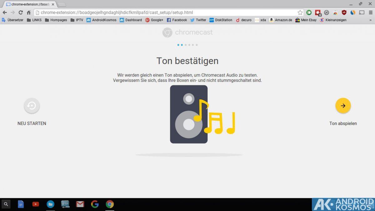 Anleitung/Test: Chromecast Audio macht alte Stereo-Anlagen wieder smart 34