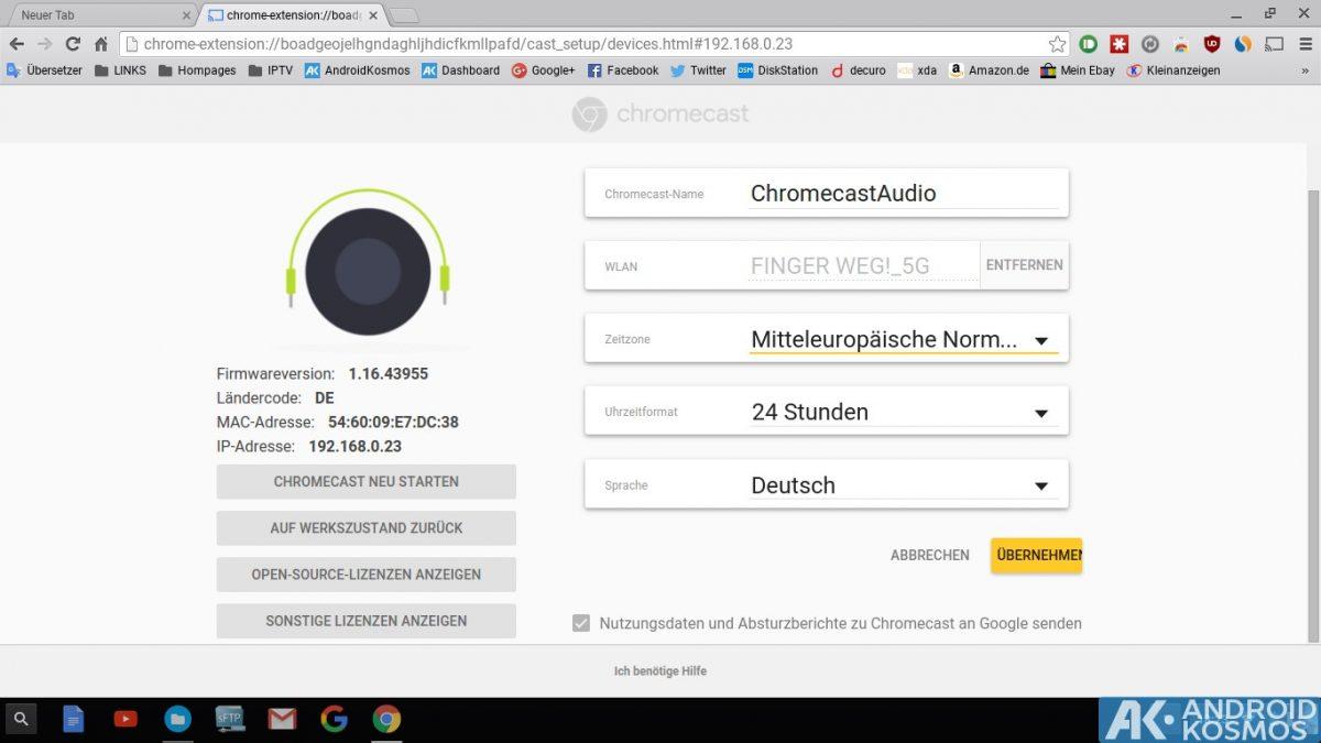Anleitung/Test: Chromecast Audio macht alte Stereo-Anlagen wieder smart 28