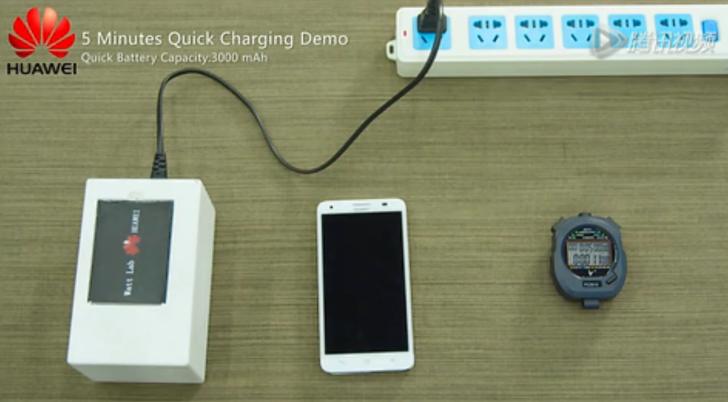 Huawei: Neue Technik läd den Akku auf 48% in nur 5 Minuten 2