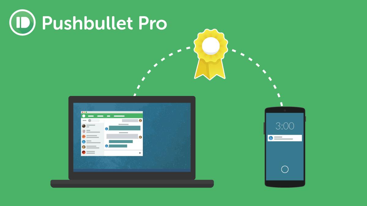 Pushbullet Pro mit monatlicher Gebühr wurde angekündigt 1