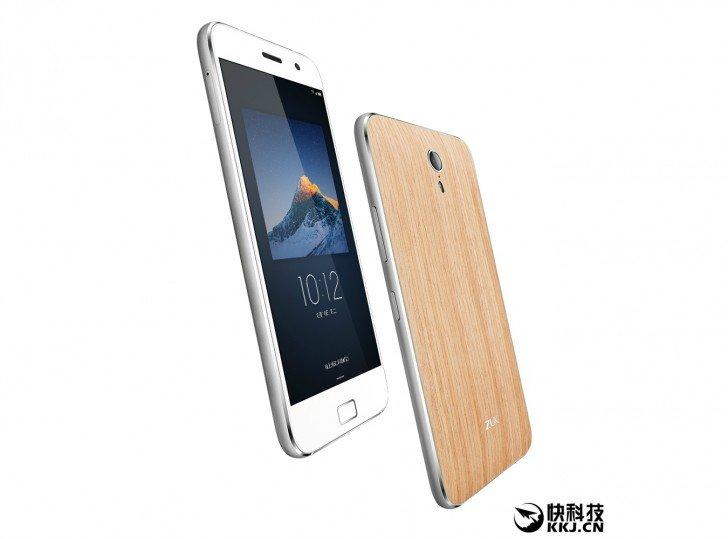 Lenovo ZUK Z1 Smartphone als spezielle OAK-Edition (Eichenholz) 1