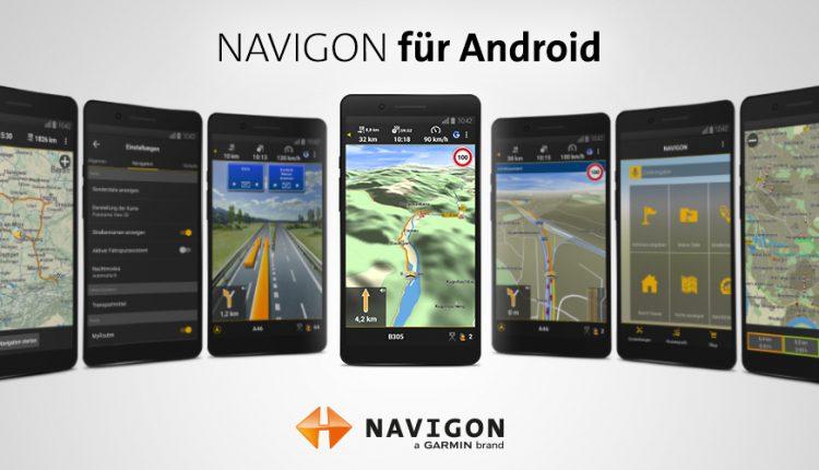 Navigon Europa für Android auf Amazon Underground gratis 2