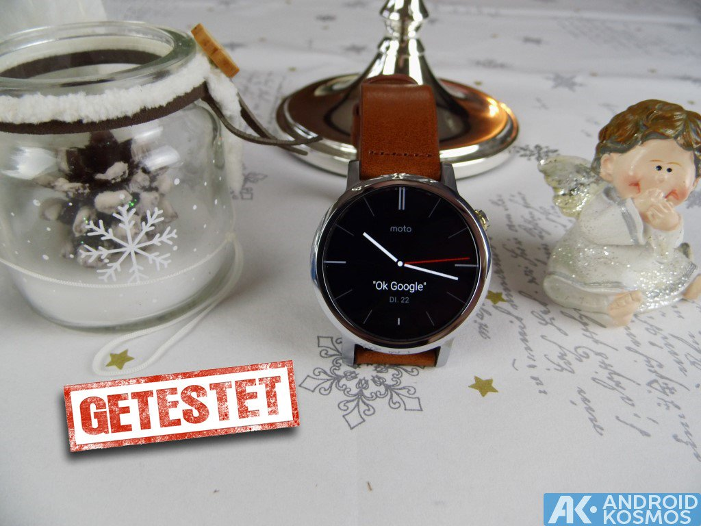 AndroidKosmos | Test / Review: Moto 360 2nd Generation Smartwatch mit unboxing & Hands-On Video 1
