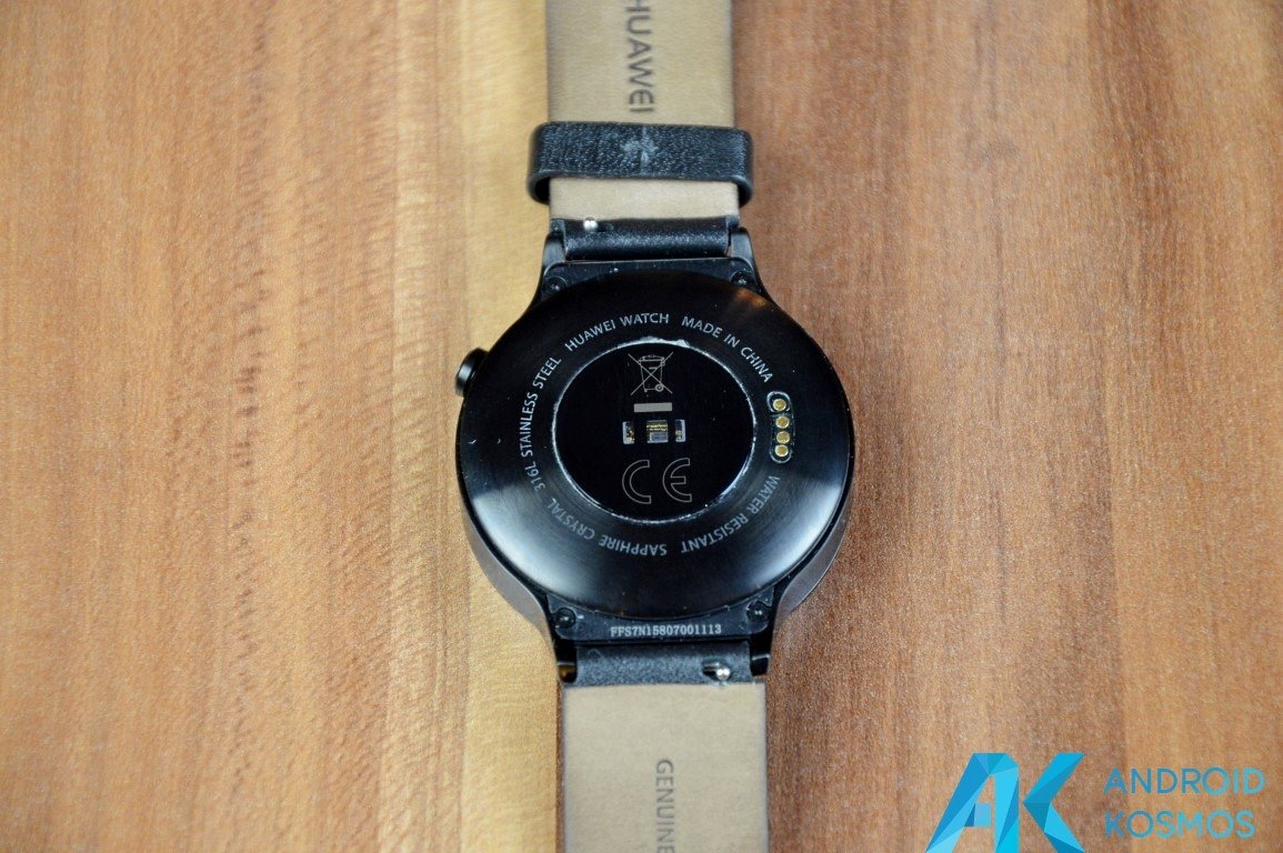 "Test / Review: Huawei Watch Smartwatch - ""Timeless design, Smart within."" 22"