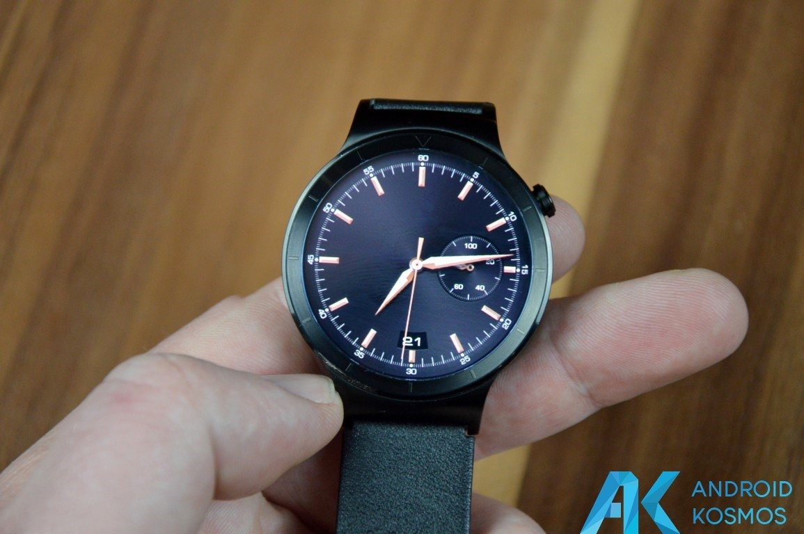 "Test / Review: Huawei Watch Smartwatch - ""Timeless design, Smart within."" 35"