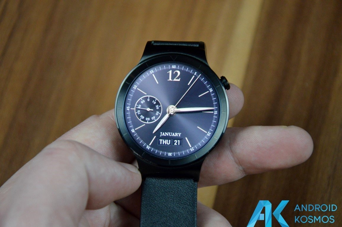 "Test / Review: Huawei Watch Smartwatch - ""Timeless design, Smart within."" 39"