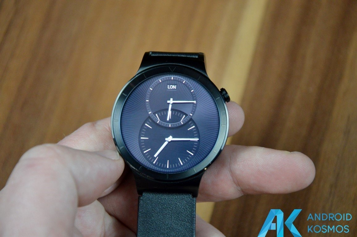 "Test / Review: Huawei Watch Smartwatch - ""Timeless design, Smart within."" 42"