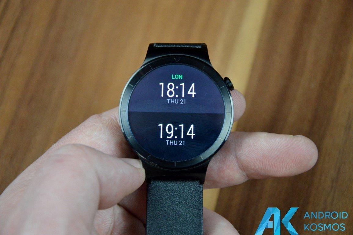 "Test / Review: Huawei Watch Smartwatch - ""Timeless design, Smart within."" 43"