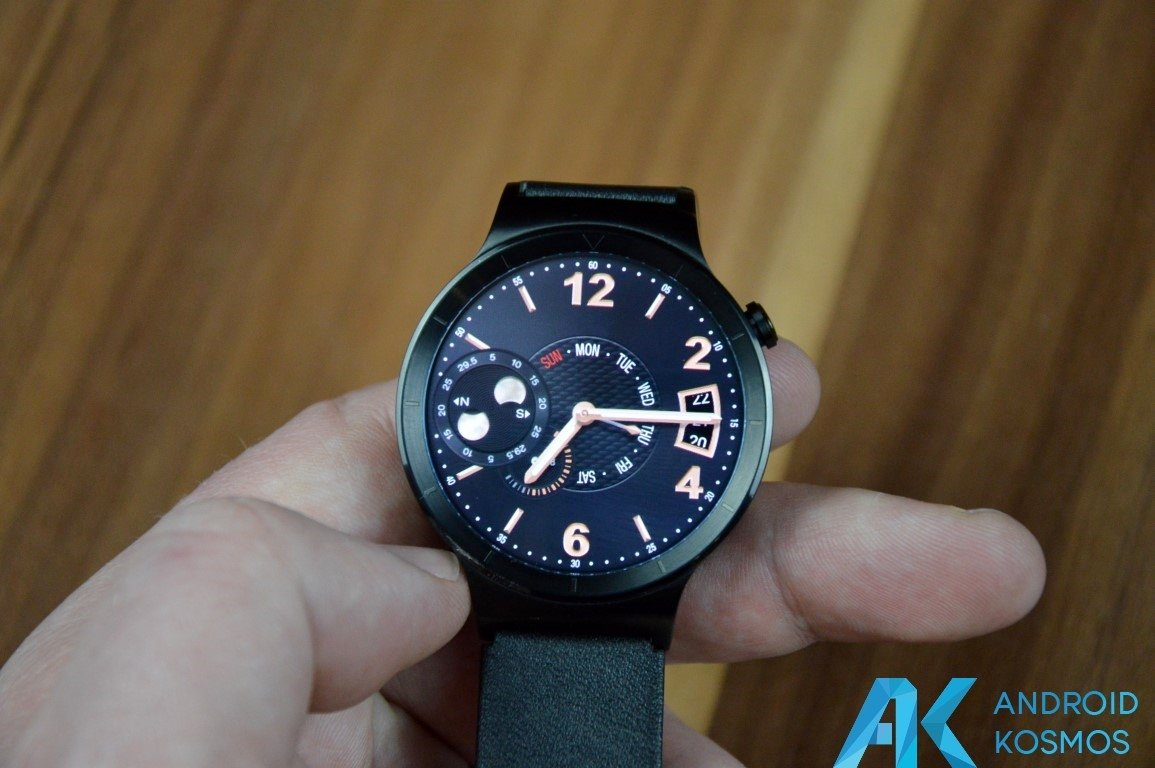 "Test / Review: Huawei Watch Smartwatch - ""Timeless design, Smart within."" 44"