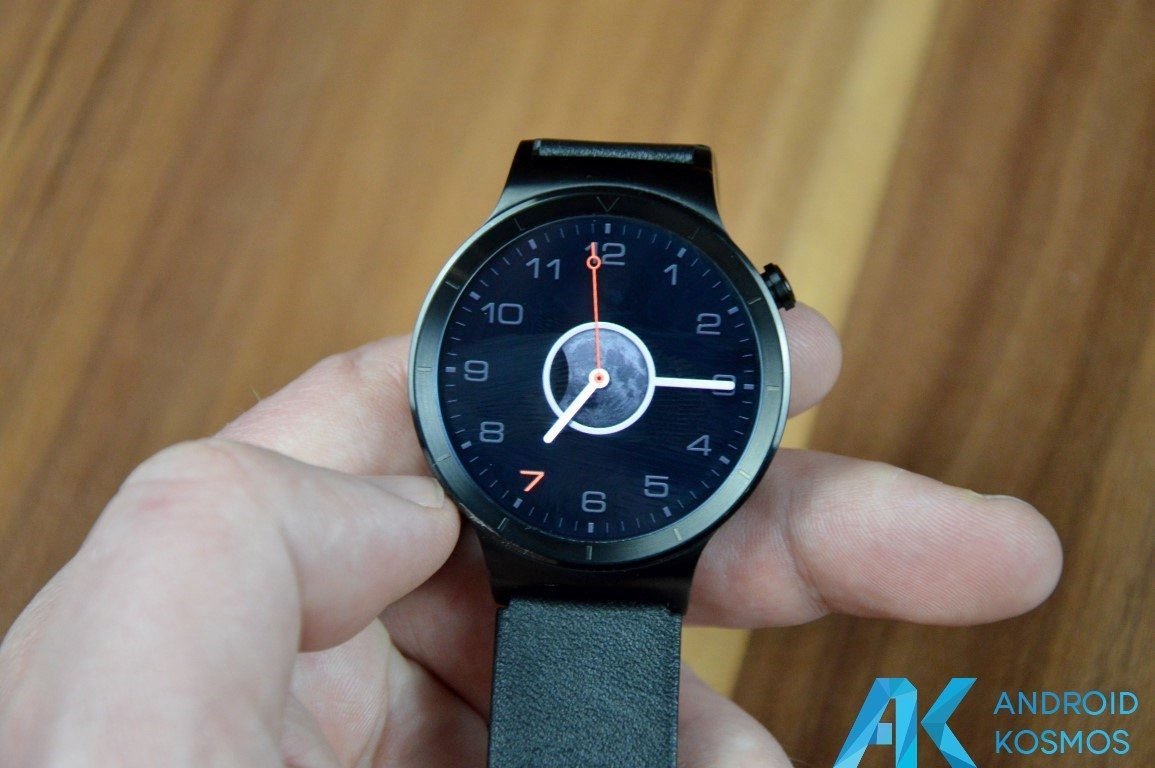 "Test / Review: Huawei Watch Smartwatch - ""Timeless design, Smart within."" 45"