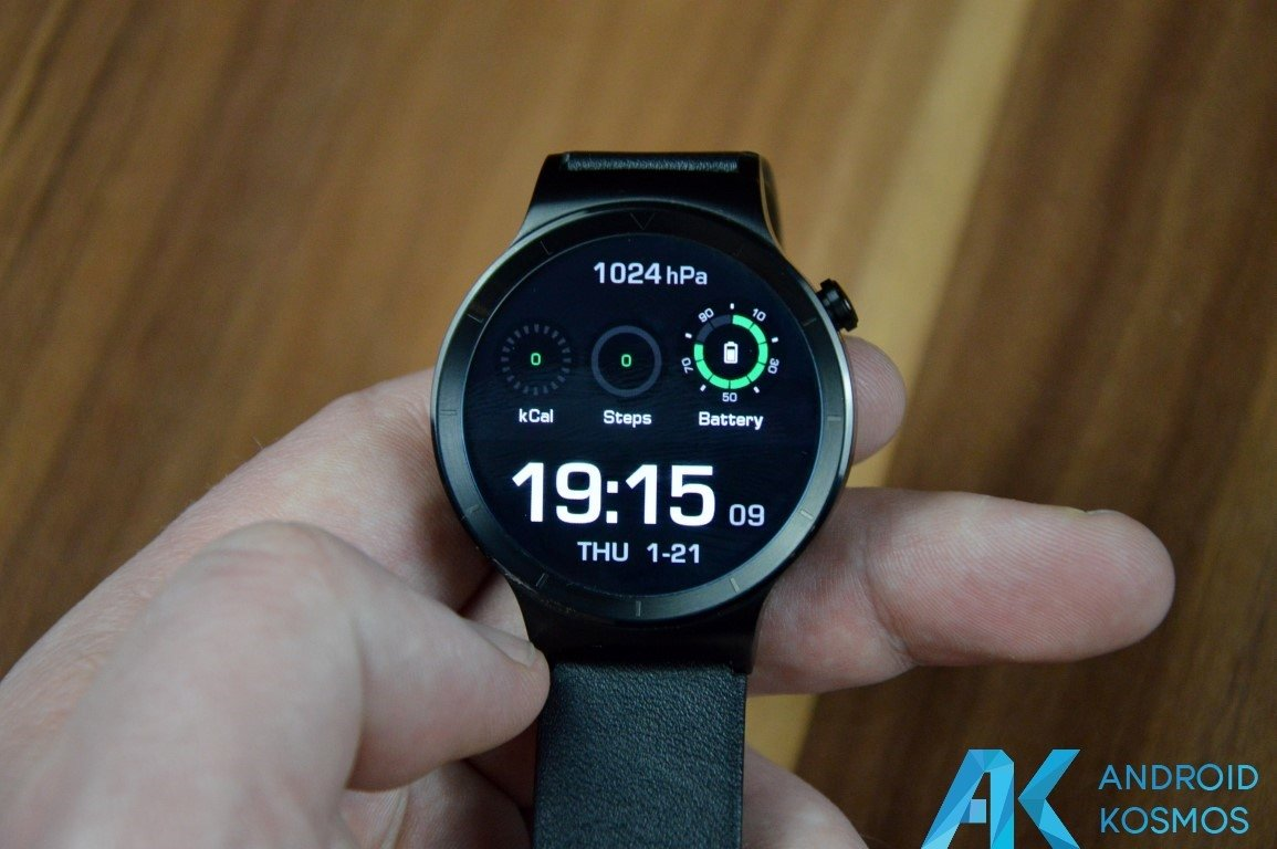 "Test / Review: Huawei Watch Smartwatch - ""Timeless design, Smart within."" 46"