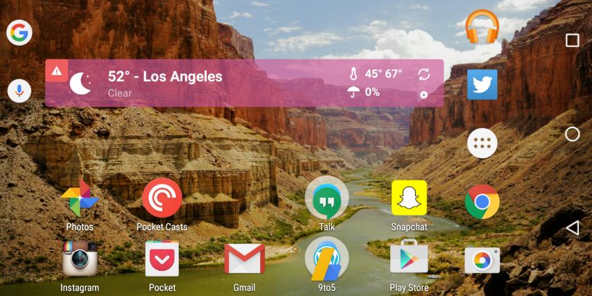 Neues Google Now Launcher Update bringt Landscapemodus und weiteres 1