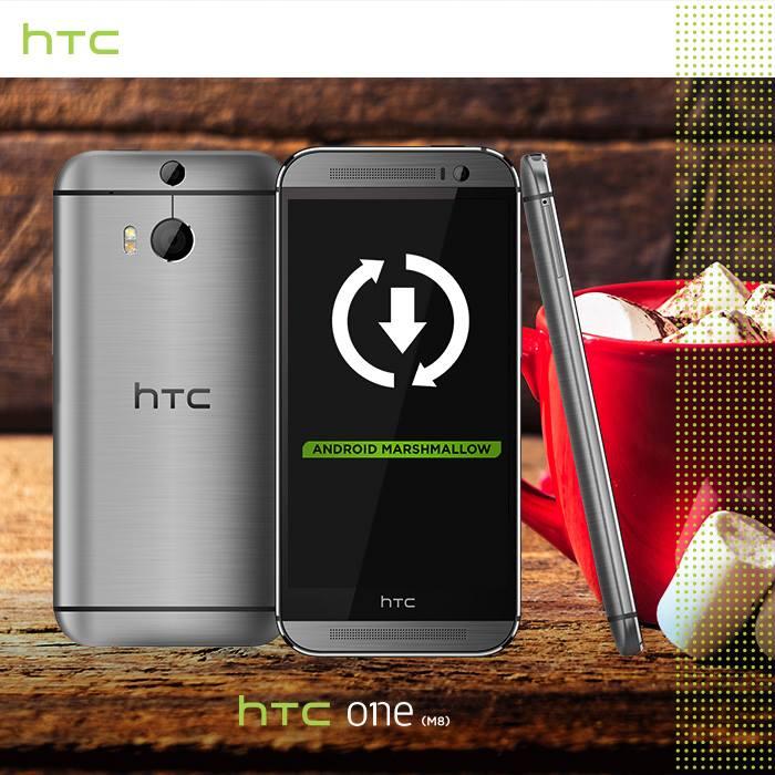 HTC One M8: Rollout für Android 6.0 Marshmallow ist gestartet 1