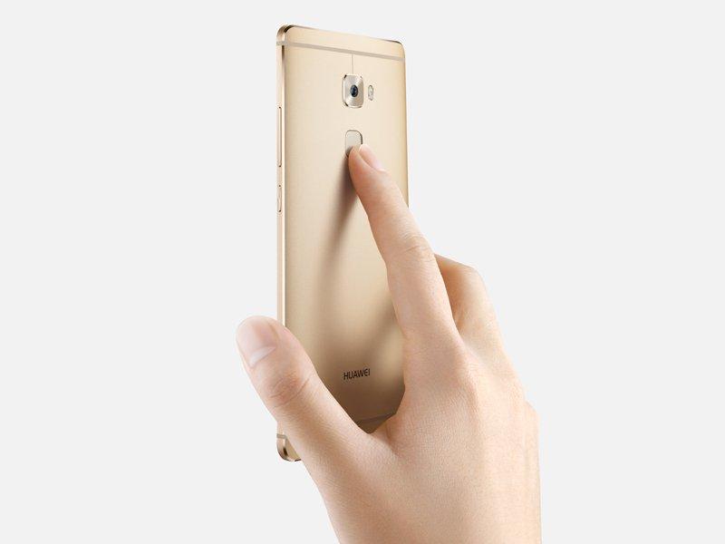 herkömmlicher Fingerabdrucksensor, wie bsp. beim Huawei Mate S