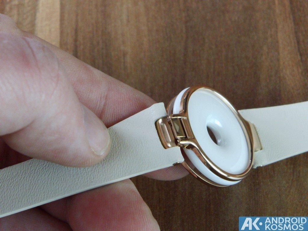 Test / Review: Xiaomi AmazFit - Fitnesstracker im roségoldfarbenen Armband 36