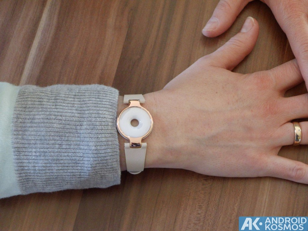 Test / Review: Xiaomi AmazFit - Fitnesstracker im roségoldfarbenen Armband 34
