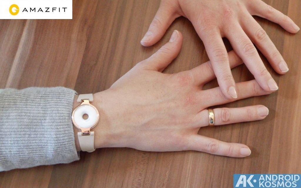 Test / Review: Xiaomi AmazFit - Fitnesstracker im roségoldfarbenen Armband 42