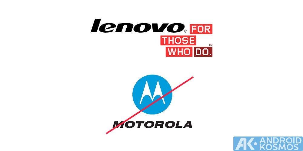 Lenovo will Motorola als Markenname einstellen und sterben lassen