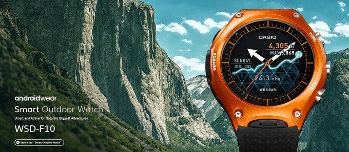 AndroidKosmos | CES 2016: Casio stellt seine erste Android-Smartwatch WSD-F10 vor 3