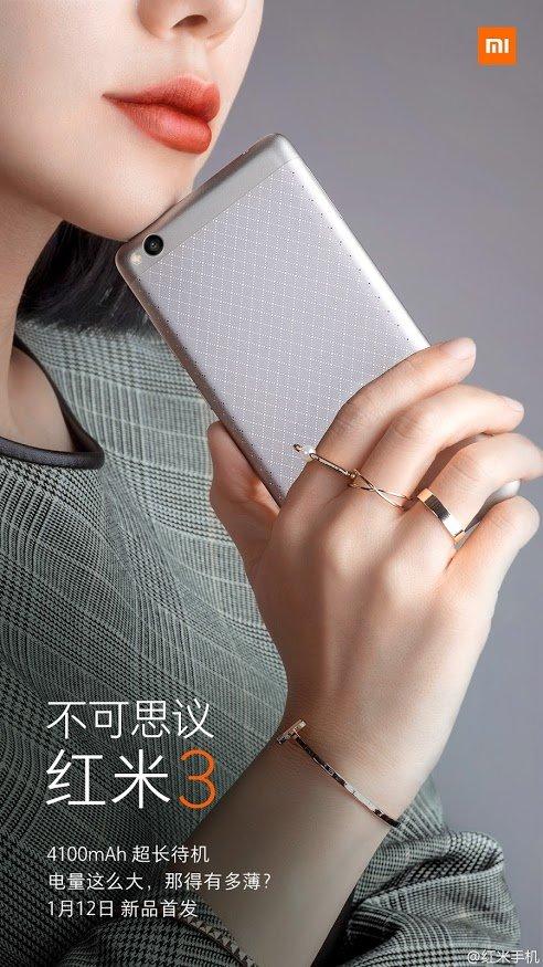 Xiaomi Redmi 3: 16GB oder 64GB mit Metallgehäuse ab 100€ vorgestellt 2
