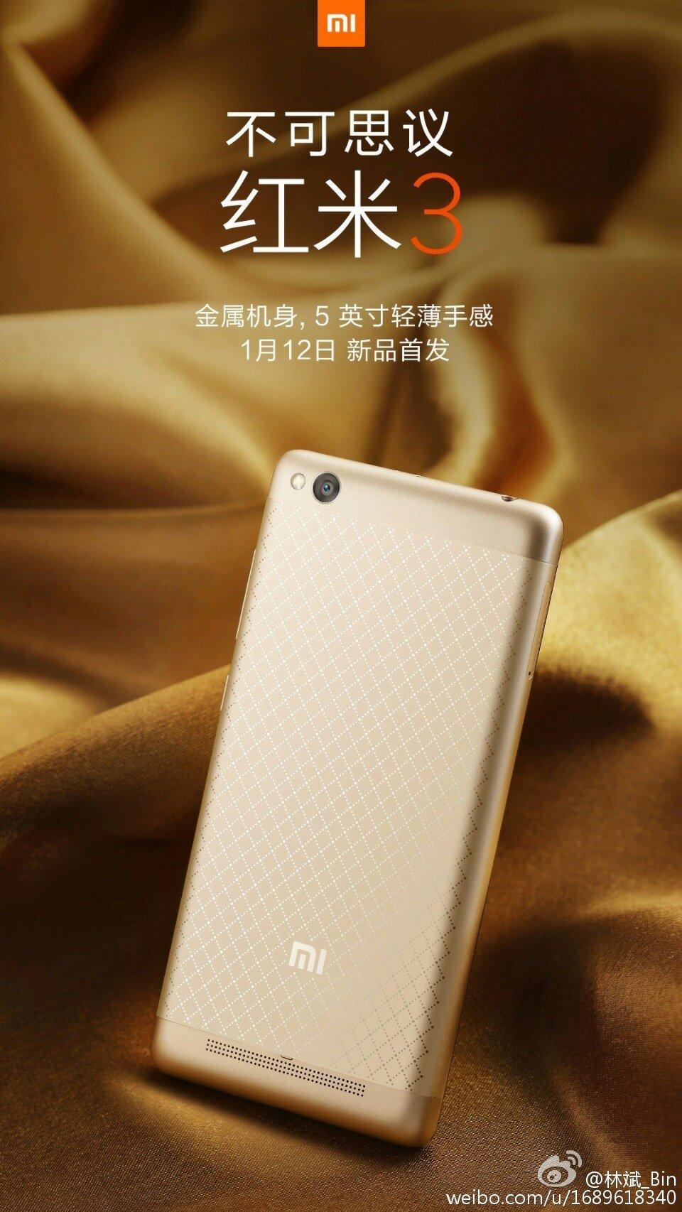 Xiaomi Redmi 3: 16GB oder 64GB mit Metallgehäuse ab 100€ vorgestellt 4