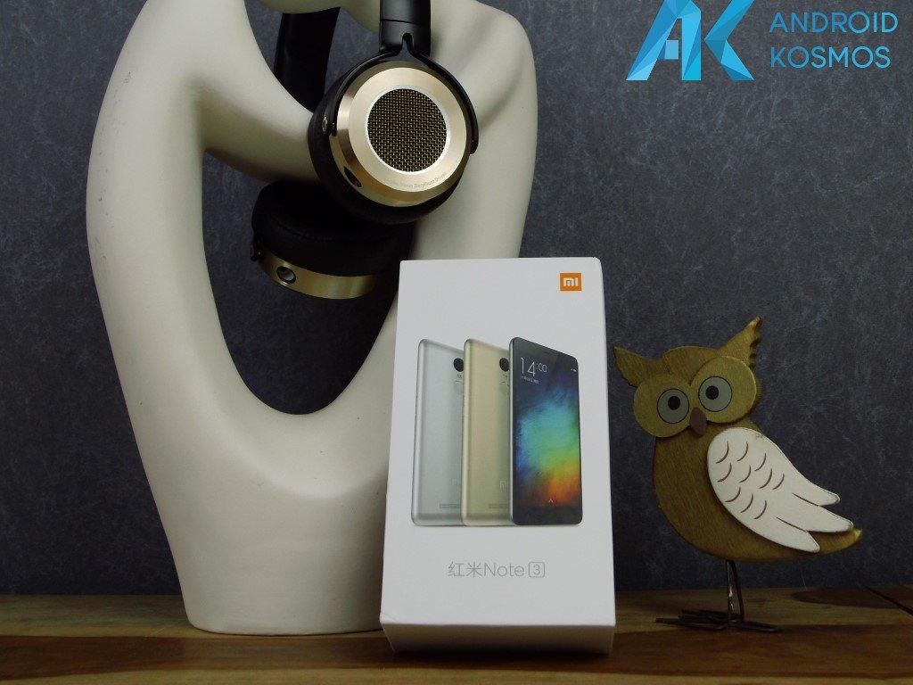 Test / Review: Xiaomi Redmi Note 3  mit Metallgehäuse und Fingerabdruck mit unboxing Video 1