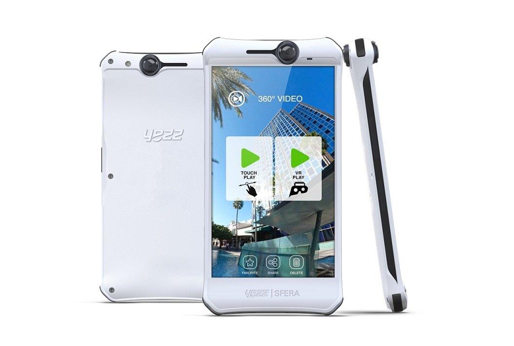 Yezz Sfera - Erstes Smartphone mit 360° Kamera 1