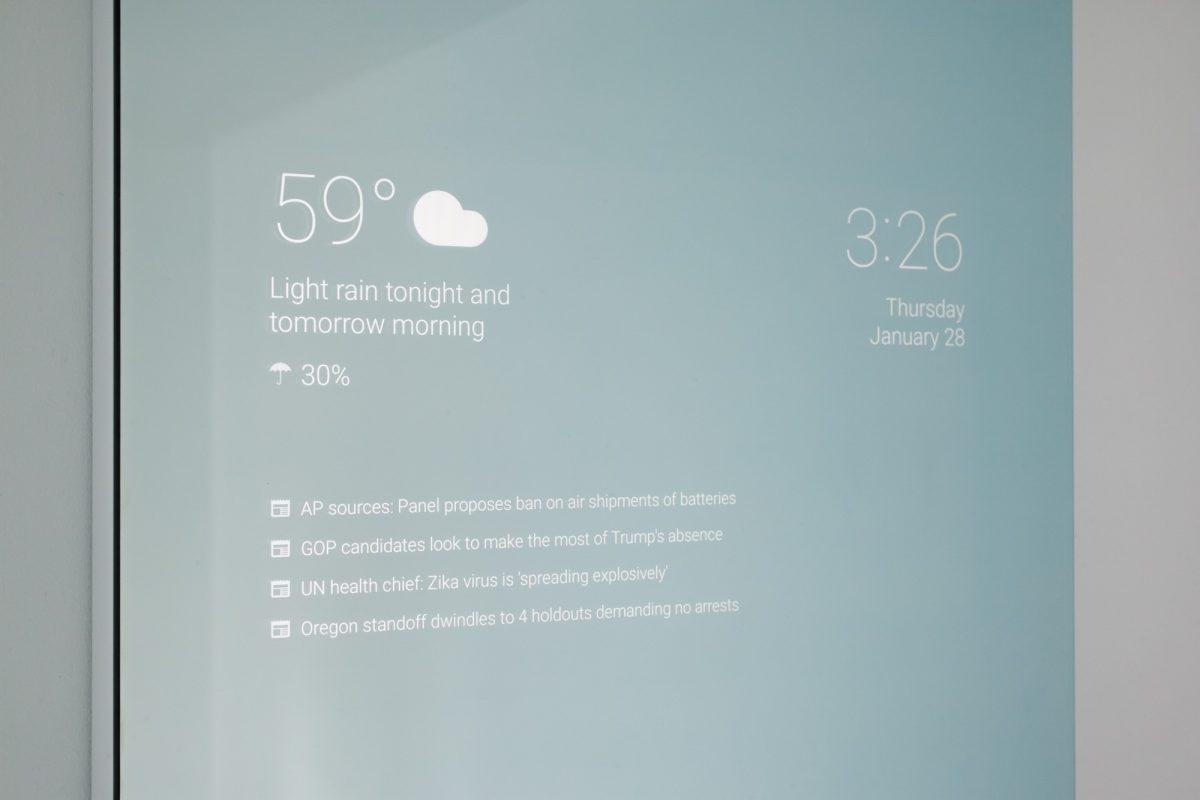 Google Entwickler erfindet smarten Spiegel fürs eigene Badezimmer 3
