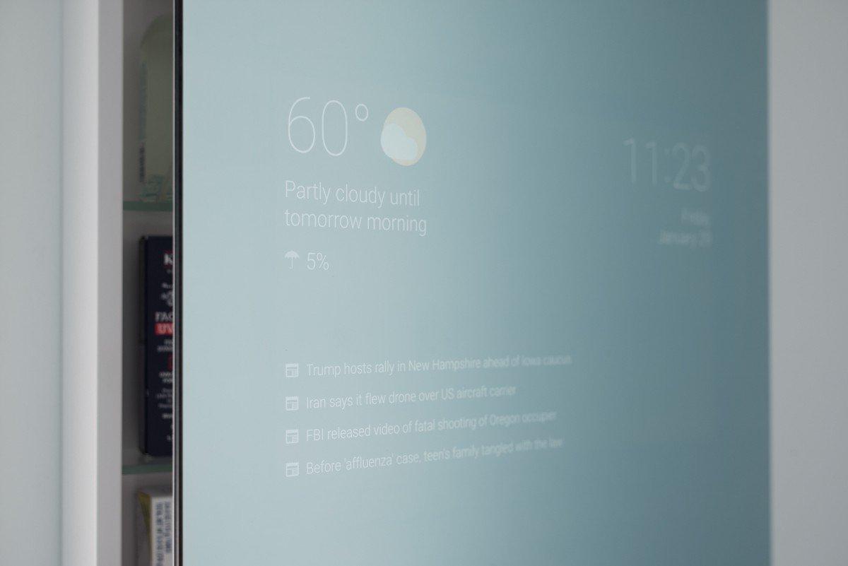 Google Entwickler erfindet smarten Spiegel fürs eigene Badezimmer 1