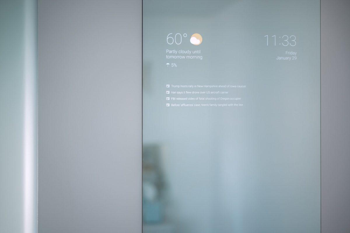 Google Entwickler erfindet smarten Spiegel fürs eigene Badezimmer 4