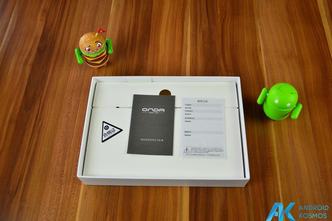 Test / Review: Onda V989 Air V5 Gold Edition - günstiges Android Tablet im Test 4
