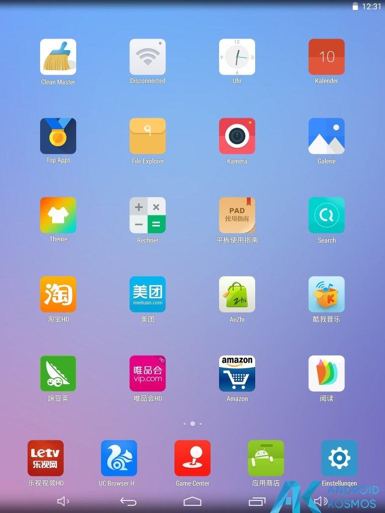 Test / Review: Onda V989 Air V5 Gold Edition - günstiges Android Tablet im Test 22