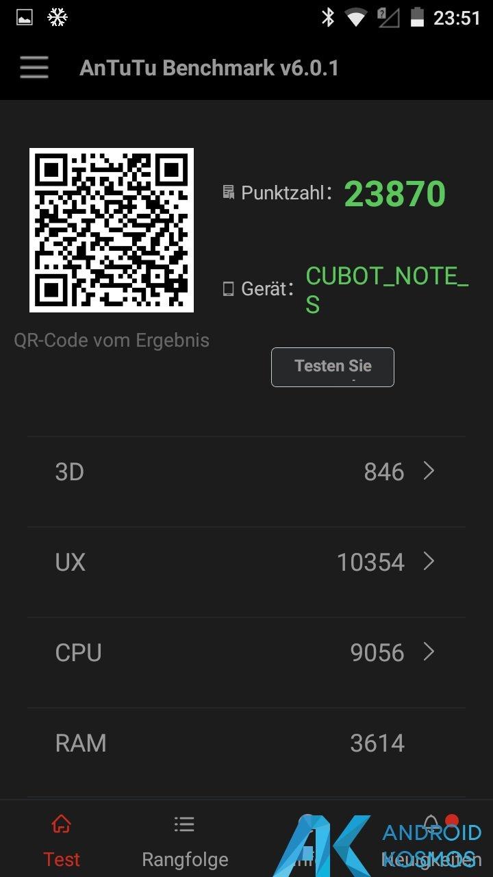 Test / Review: Cubot Note S - China Smartphone mit guten Ansätzen für kleines Geld 25