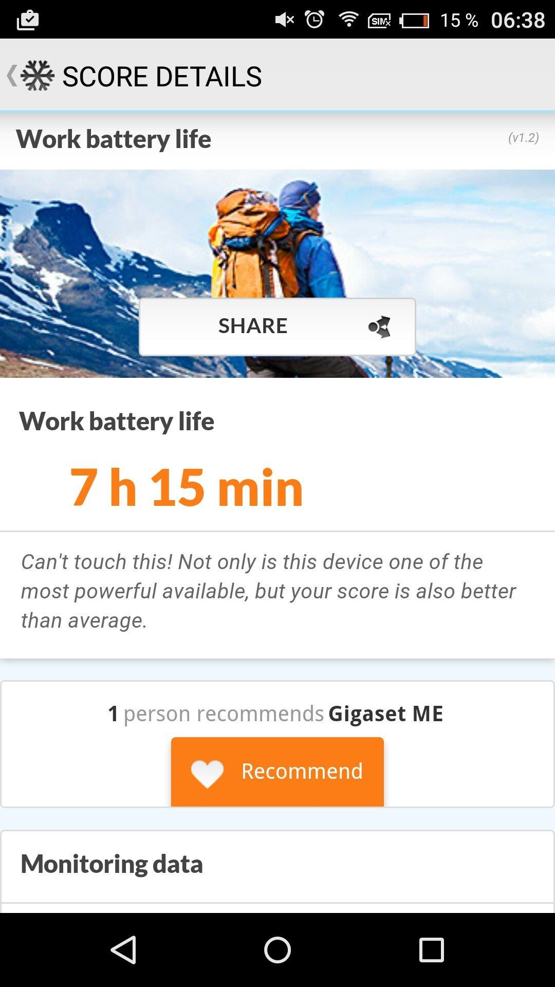 Test / Review: Gigaset ME -  edles Highend Smartphone mit kleinen Schwächen 70