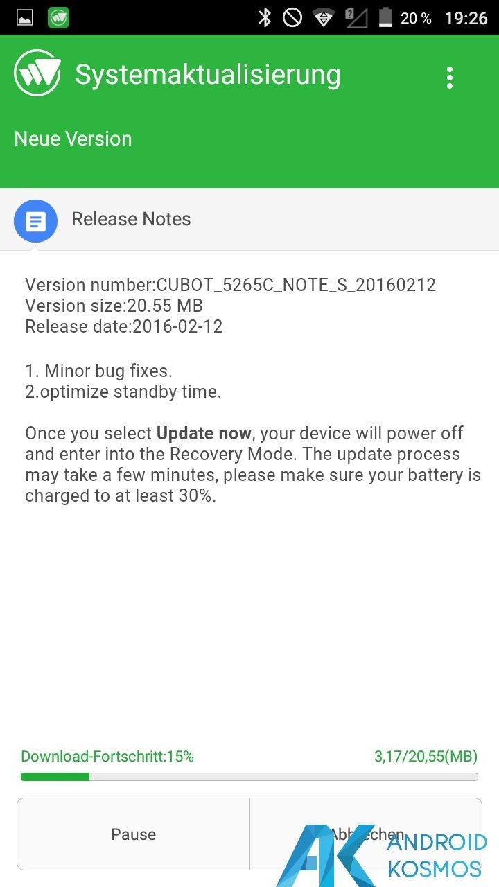 Test / Review: Cubot Note S - China Smartphone mit guten Ansätzen für kleines Geld 14