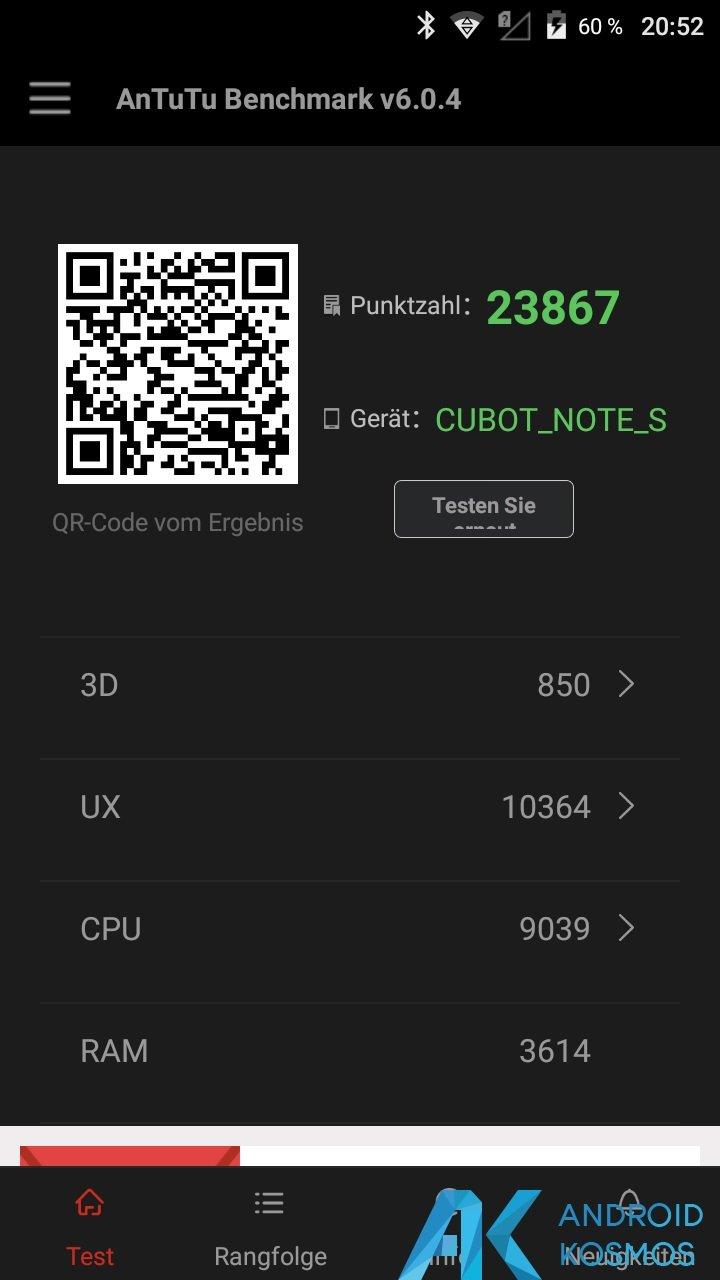Test / Review: Cubot Note S - China Smartphone mit guten Ansätzen für kleines Geld 27