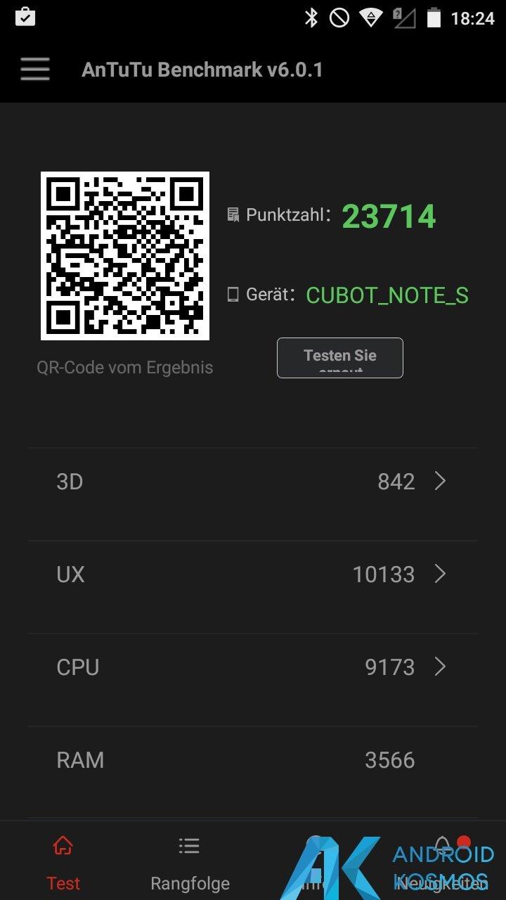 Test / Review: Cubot Note S - China Smartphone mit guten Ansätzen für kleines Geld 44
