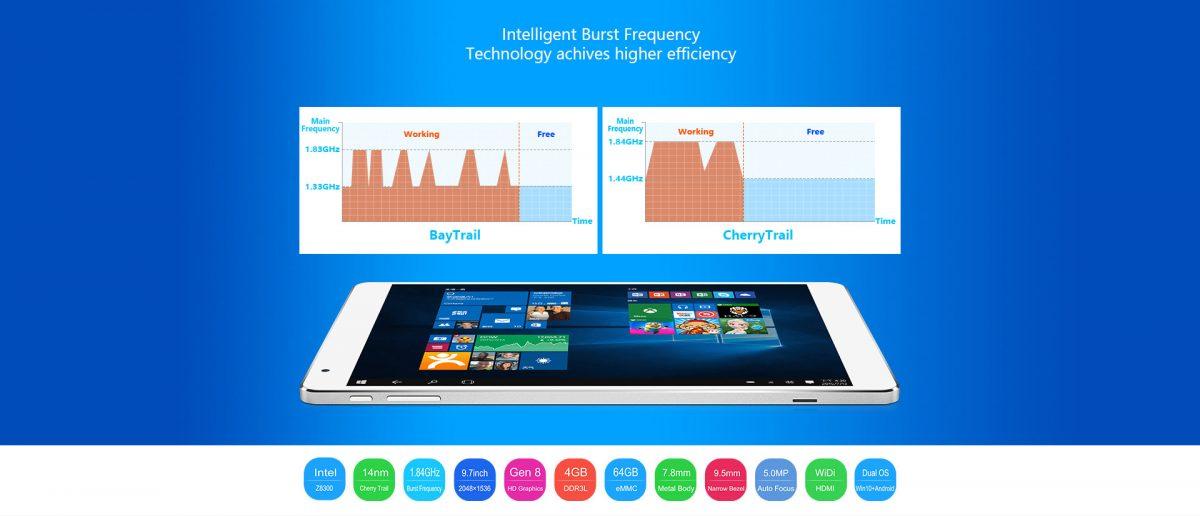 Teclast will spezielle Version des X98 Plus Dual-Boot Tablets für Europa bringen 12