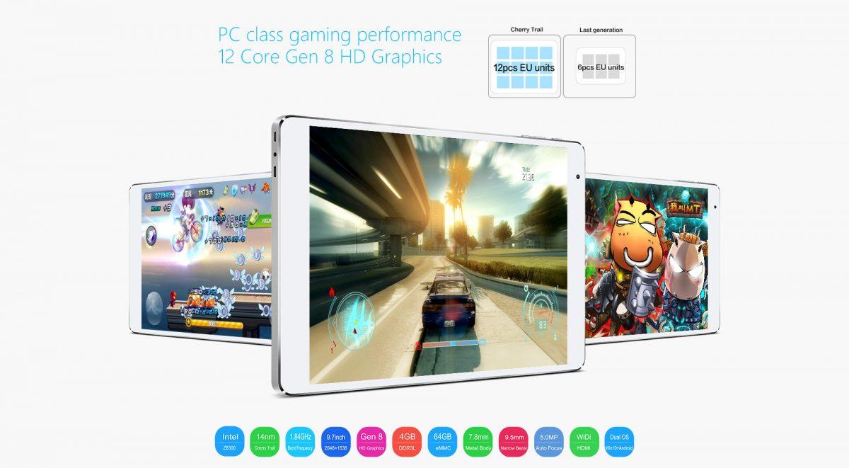 Teclast will spezielle Version des X98 Plus Dual-Boot Tablets für Europa bringen 13